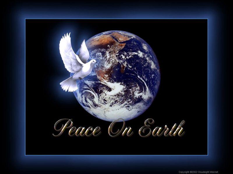 PeaceOnEarthFreeXmasWallpaper