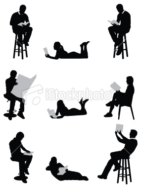 Stock-illustration-15809861-men-and-women-reading-books-or-newspaper