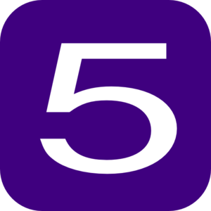 Purple-number-5-md