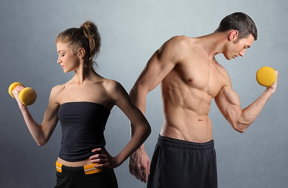 Man-woman-fitness