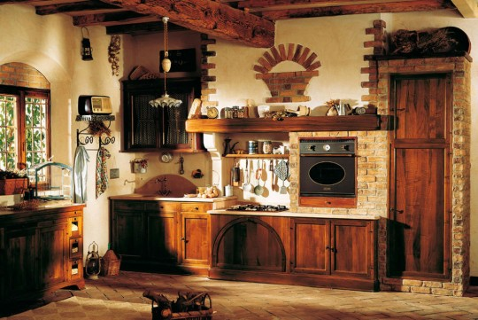 Rustic-traditional-kitchen
