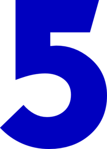 Number-five-clipart-five-md