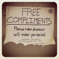 Free-compliments