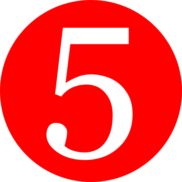 Red-rounded-with-number-5-hi