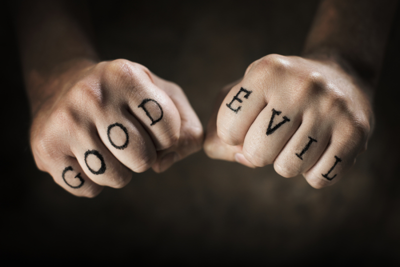 Man-with-Good-and-Evil