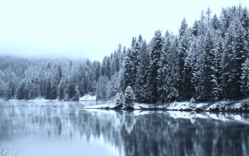 Winter-lake